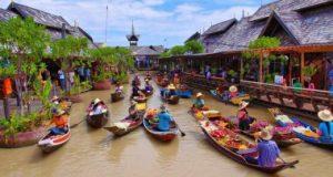 بازار شناور محبوب ترین جاذبه تایلند